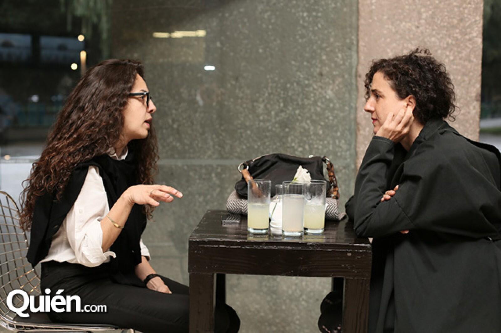 Carmen Casanovas y Ximena Hiriart