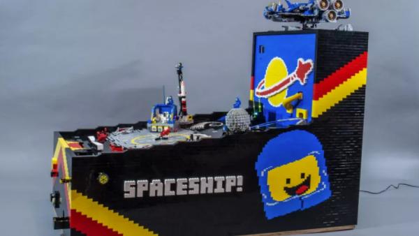 Pinball de Lego