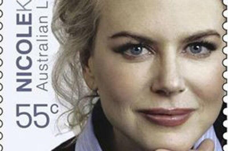 Australia también honró a Cate Blanchett, Russel Crowe y Geoffrey Rush, quienes aparecerán en los sellos postales.