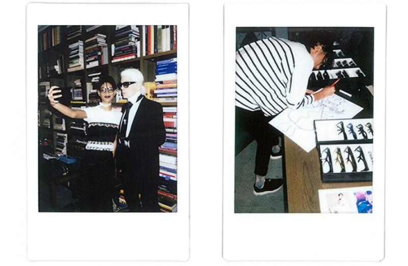 La hija de Will Smoth y el director creativo de la firma, siempre han compartido su gusto por la moda.