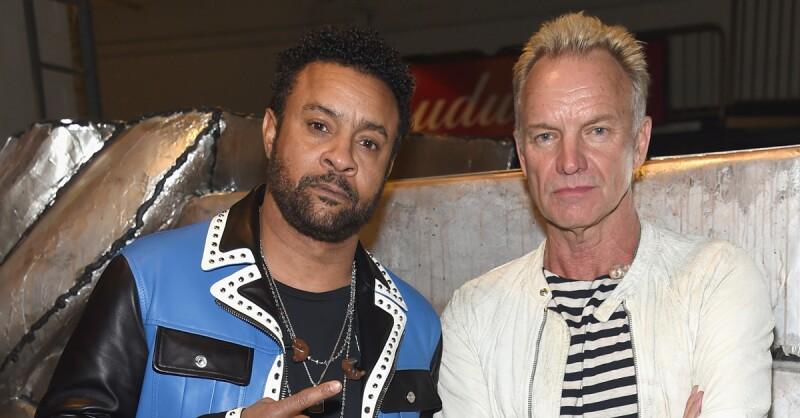 Shaggy y Sting.