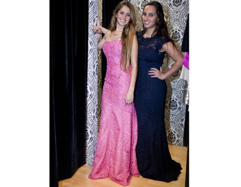 Jessica Cohen y Daniela Mizrahi lucieron outfits en encaje, un must del verano.