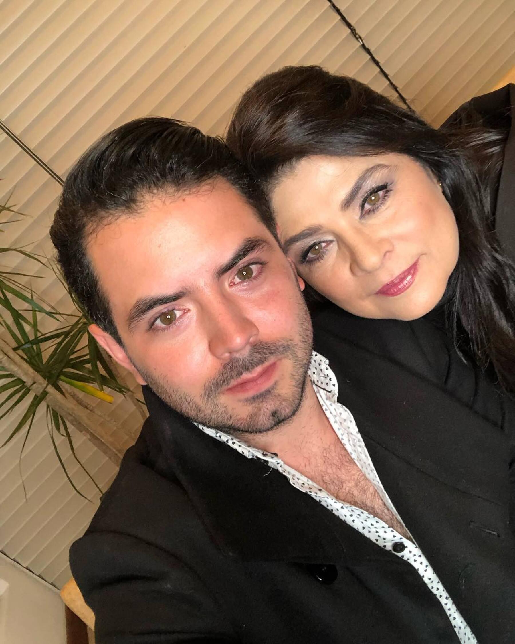 Jose Eduardo Derbez y Victoria Ruffo