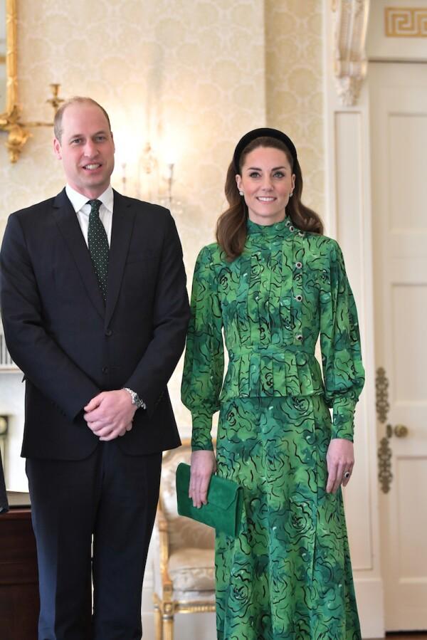 Prince William and Catherine Duchess of Cambridge visit to Ireland - 03 Mar 2020