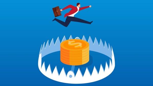 Miedo en inversiones - miedo en el mercado accionario