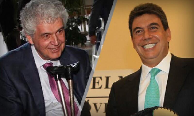 Alfredo (izquierda) y Arturo Elías Ayub (derecha) dijeron que todo lo que tienen está declarado en México. (Foto: Cuartoscuro)