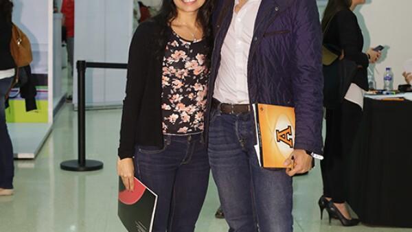 Bárbara Montes de Oca y Luis Xavier Rodríguez