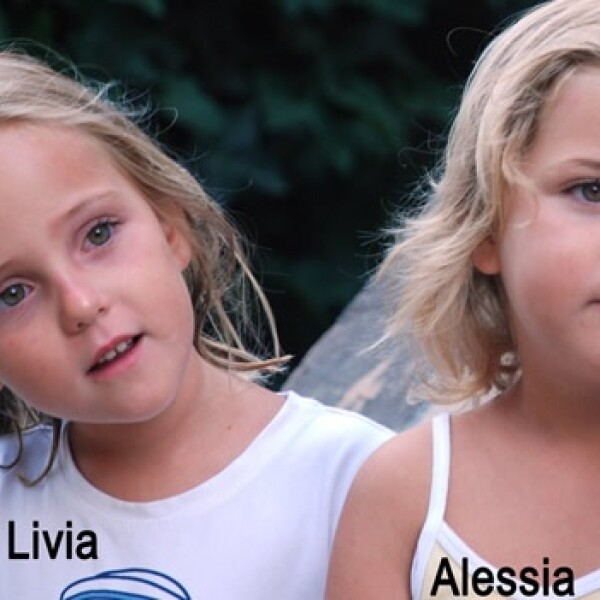 Suiza - Italia - mellizas desaparecidas