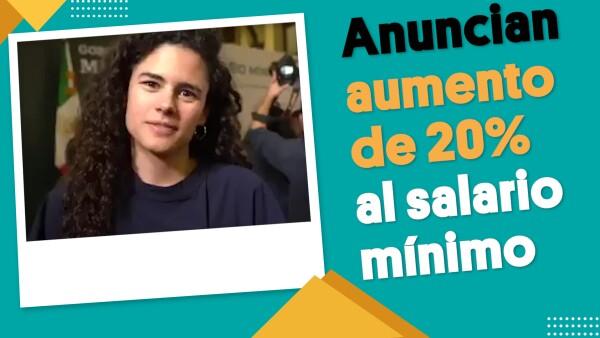 Anuncia Luis María Alcalde aumento del 20% al salario mínimo | #EnSegundos ⏩