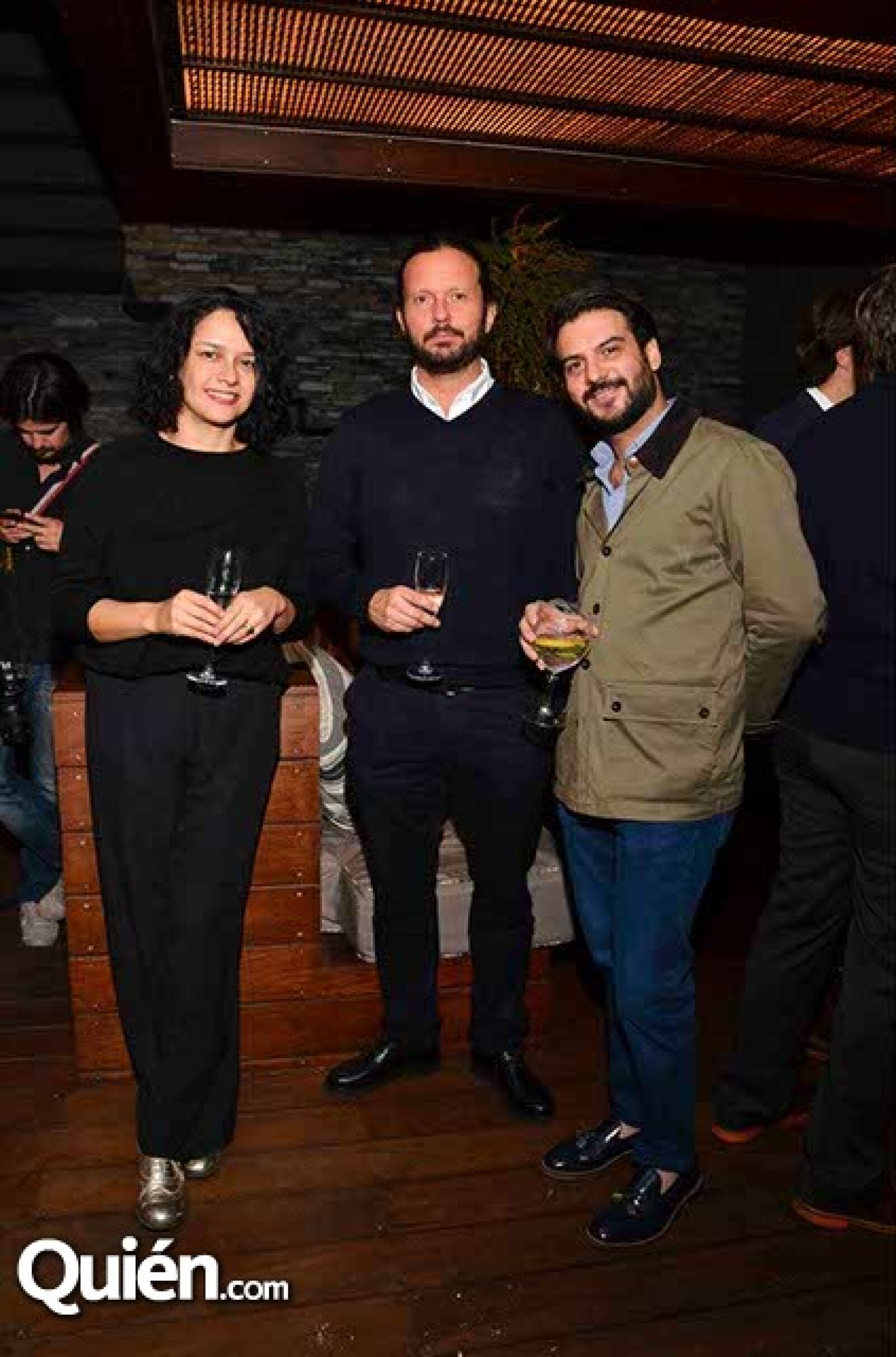 Pamela Echeverría,Eduardo Prieto y Rodrigo García-Lestra