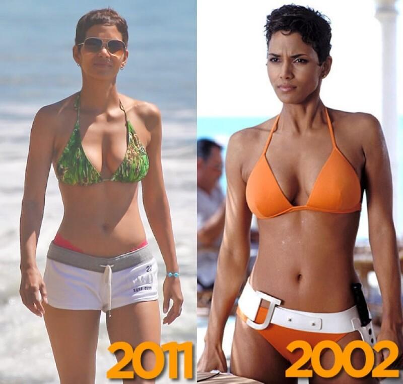 La actriz fue vista usando bikini en las playas de Miami y demostró que a casi una década de haber sido chica Bond sigue teniendo un cuerpo de envidia.