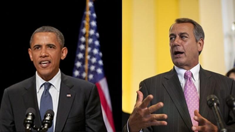 Barack Obama y John Boehner