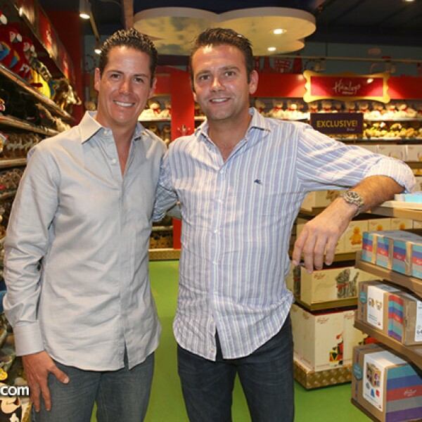Francisco Lomelín y Kevin Gielen