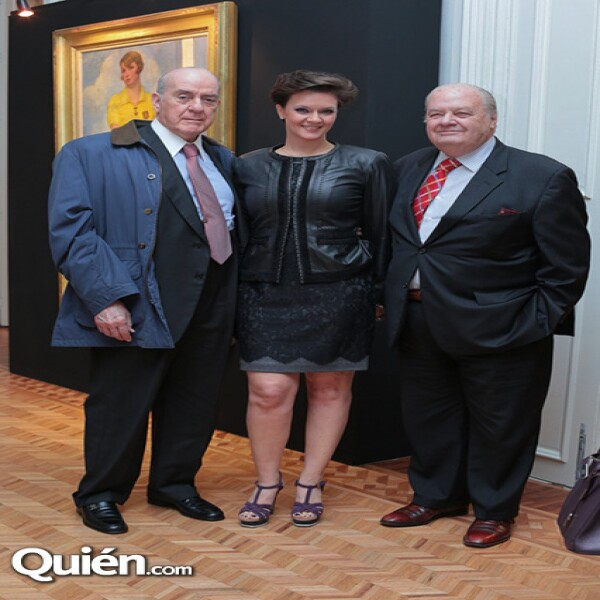 Antonio Madero, Marisa Madero, Claudio Landucci
