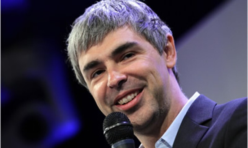 Google ha dicho únicamente que Larry Page perdió la voz, aunque estará ausente durante un mes. (Foto: Cortesía CNNMoney)