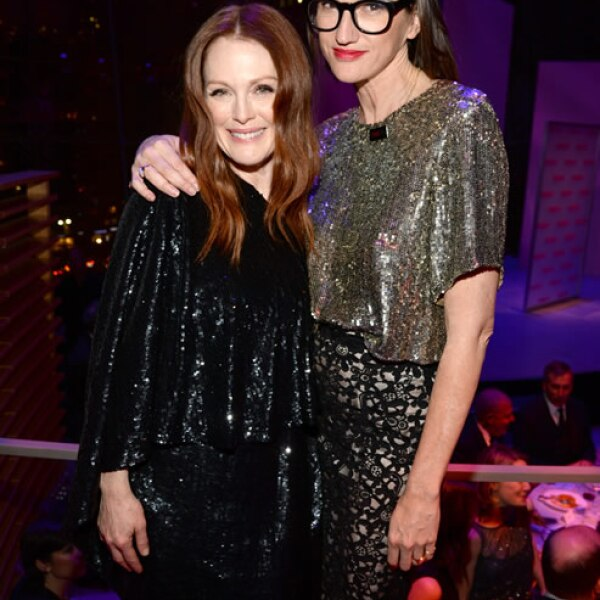 Julianne Moore y Jenna Lyons