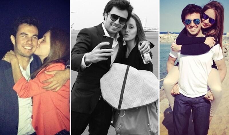 Fernanda gusta de publicar varias imágenes con su novio.