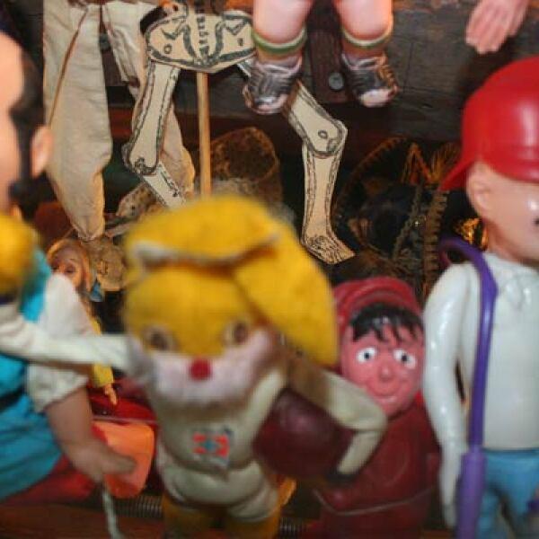 Los comediantes de la época como Capulina y Cantinflas eran retomados por las empresas jugueteras nacionales.