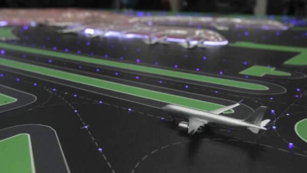 pista del nuevo aeropuerto de la CDMX