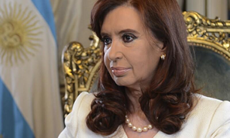 La presidenta de Argentina, Cristina Fernández, dijo que negociaría con los fondos de cobertura. (Foto: Reuters)