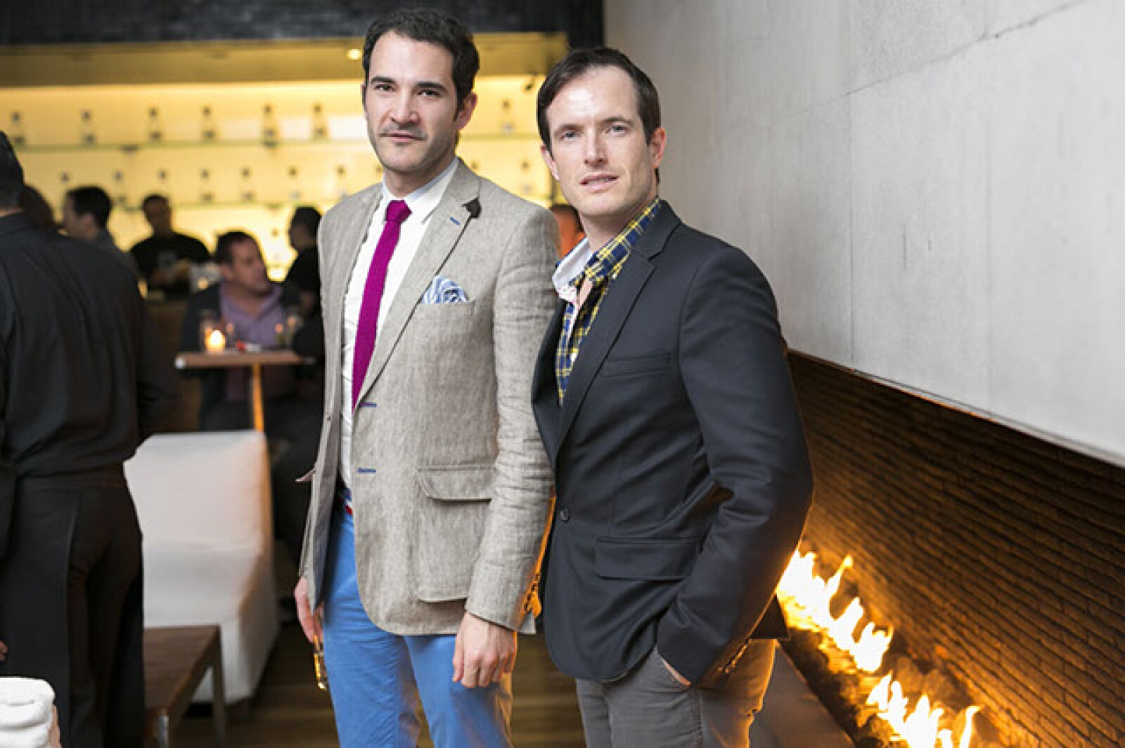 Juan José Acevedo y Jeff Fitch
