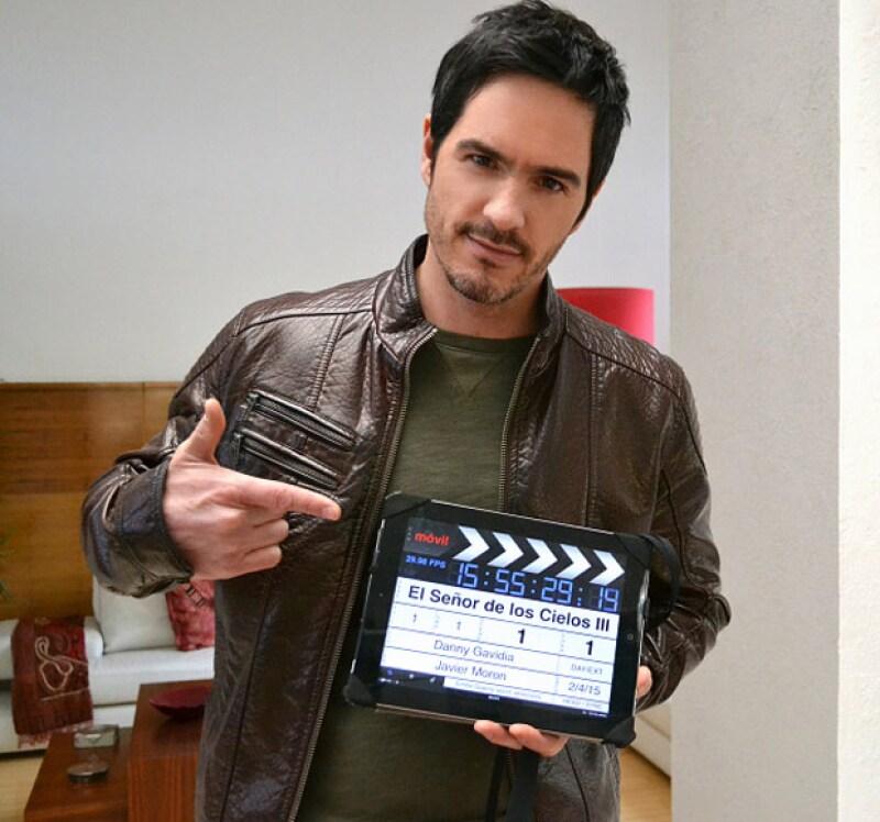 """Ambos actores comparten crédito en la exitosa serie """"El señor de los cielos"""", por lo que Mauricio da su opinión sobre la situación de su compañero."""