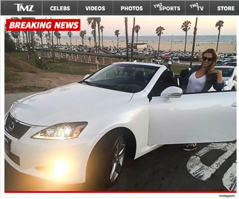La niñera presumió su automóvil de 43 mil dólares a pesar de estar sin empleo. Cuestión que desató especulaciones sobre un posible regalo de Ben a ella.