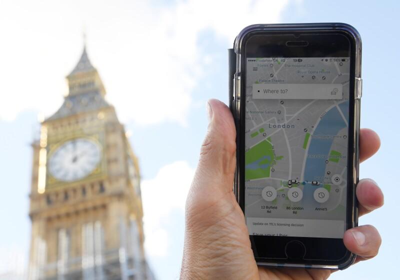 Uber tiene luz verde en Londres