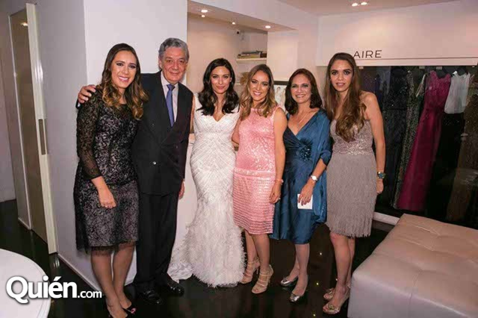 María Fernanda Amezcua,Alfredo Amezcua,Ana Brenda,Ana,Ana y Daniela Amezcua.