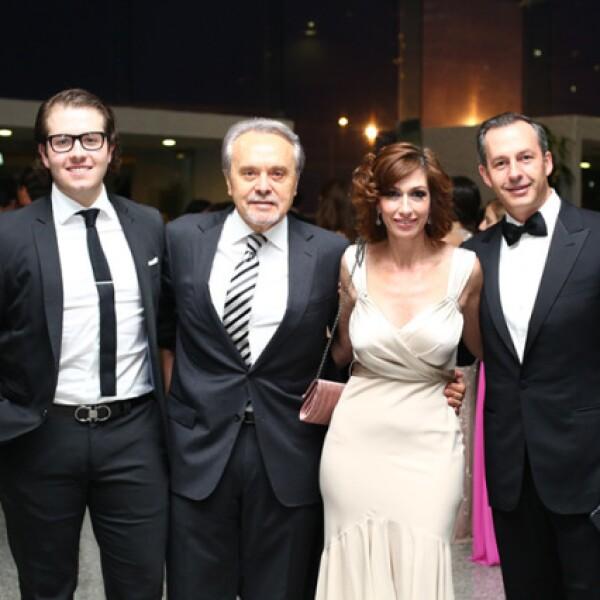 Íñigo Sañudo, Carlos Senent, Blanca y Andrés Conesa