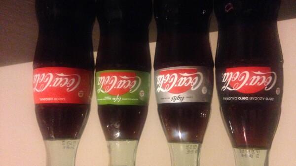 """Coca-Cola presentó una estrategia para las """"variantes"""" de sus productos en México."""