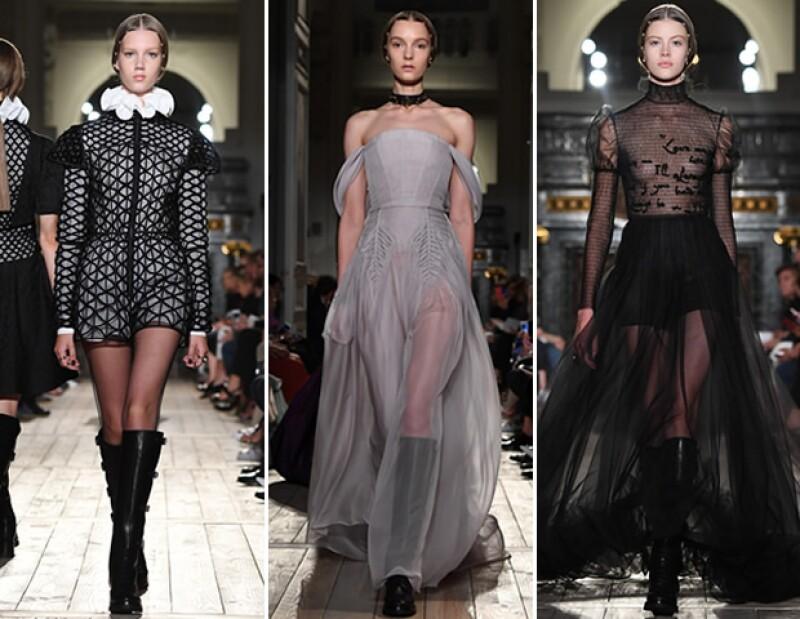 Looks de la colección de Alta Costura de Valentino para otoño 2016 y la última de Maria Grazia para la firma italiana.