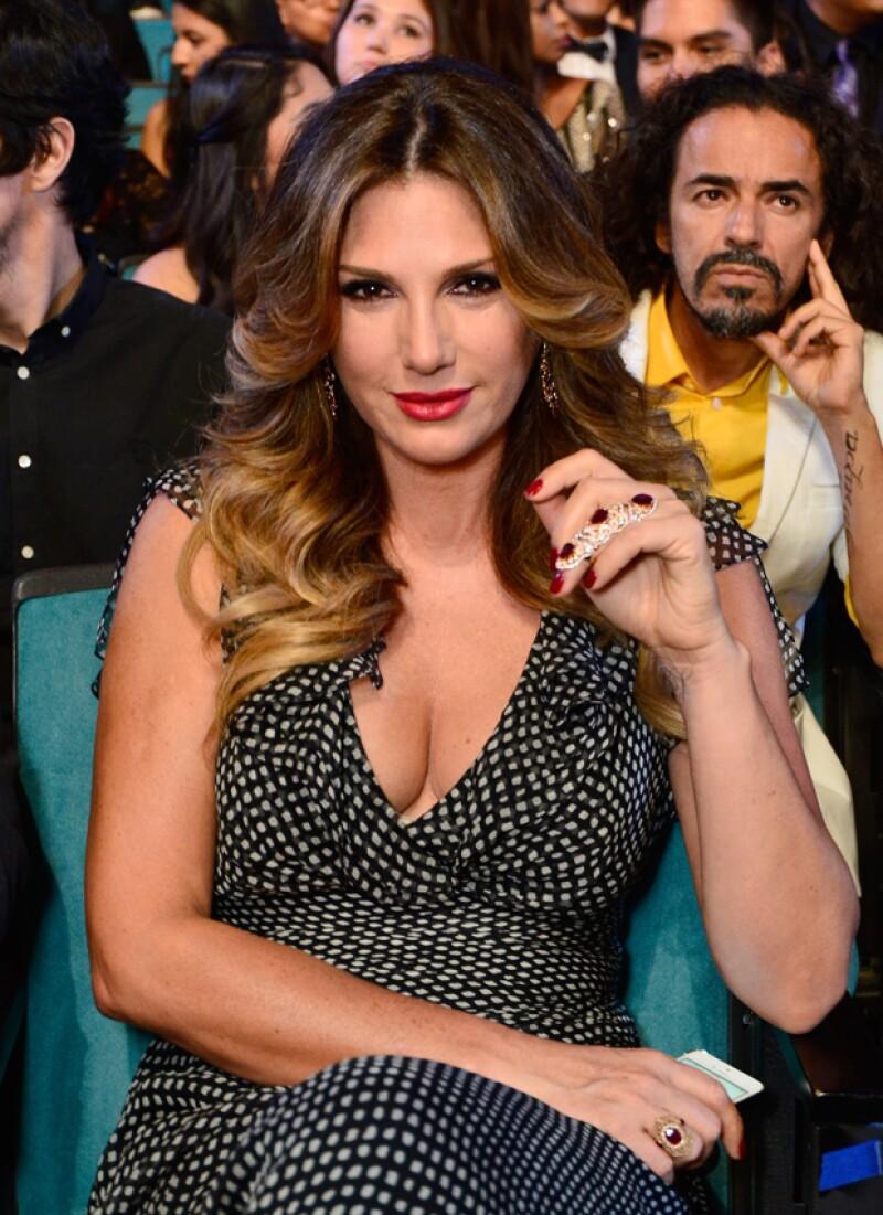 La modelo cubana fue de la postura, `hasta no ver no creer´, respecto del tema.