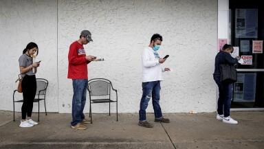 FILE PHOTO: The spread of the coronavirus disease (COVID-19), in Fayetteville