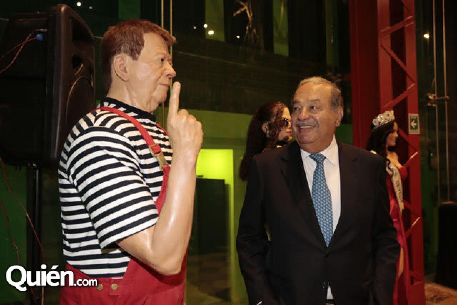 Figura de Chabelo, Carlos Slim