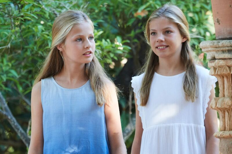 princesa Leonor e infanta Sofía