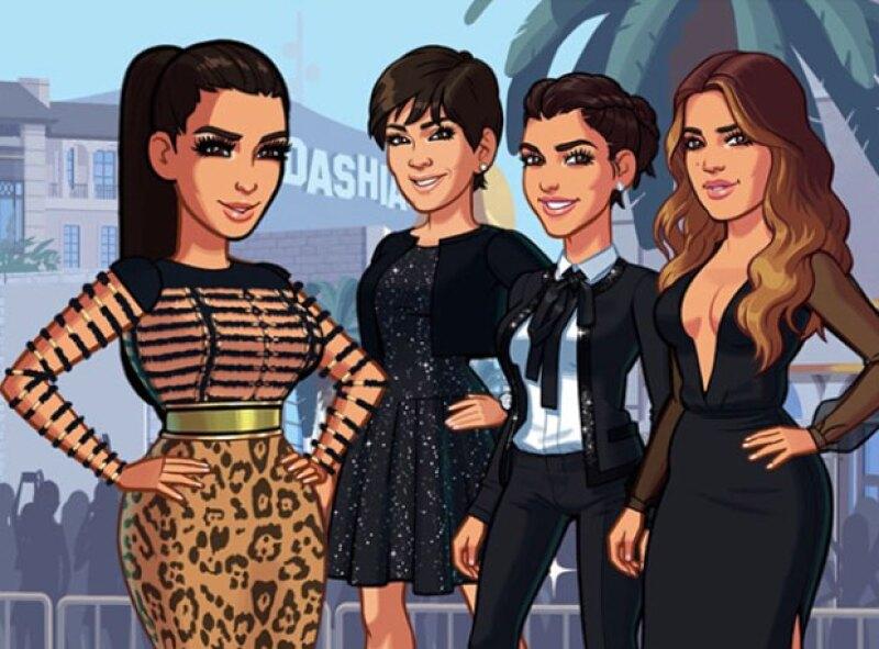El clan Kardashian se unió al famoso juego.