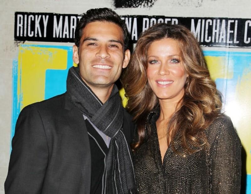 Rafa Márquez y Jaydy Michel acudieron al estreno de la obra.