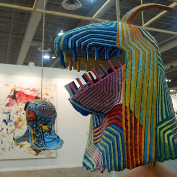 Podrás ver obras de galerías de Londres, Berlin, Nueva York y otras ciudades.