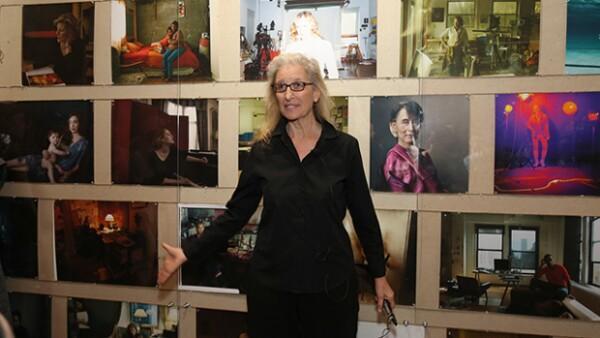 """Desde Adele hasta Amy Schumer son los retratos de las mujeres contemporáneas de la exposición """"WOMEN: New Portraits de la artista Annie Leivobitz."""