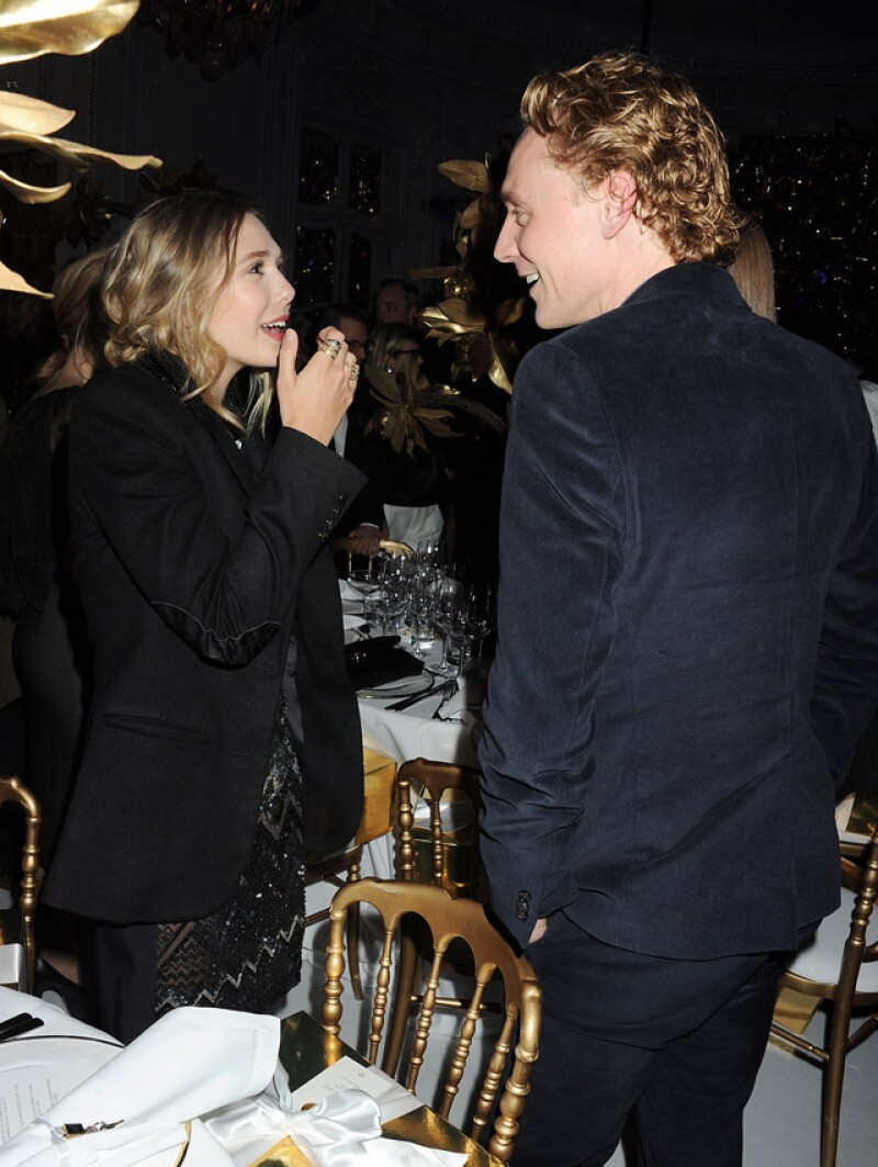 Esta foto, tomada en 2012, indica que ambos se conocían y habían mantenido una amistad por mucho tiempo.