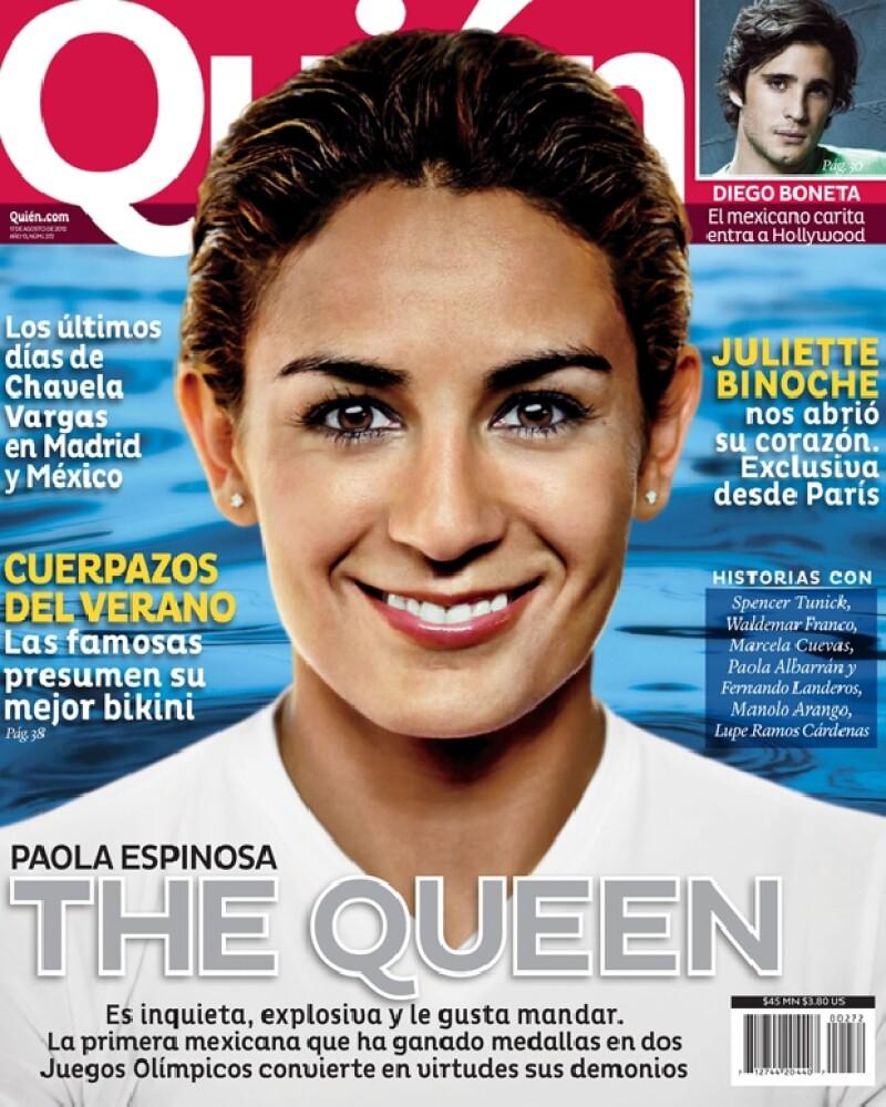 `La Reina´ Paola Espinosa en portada de Quién