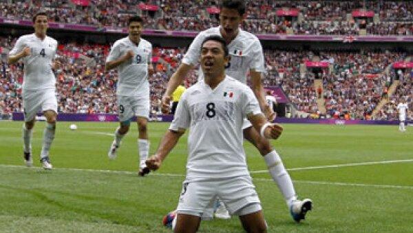 México se enfrenta a Brasil para ganar el oro en los Juegos Olímpicos de Londres. (Foto: Notimex)