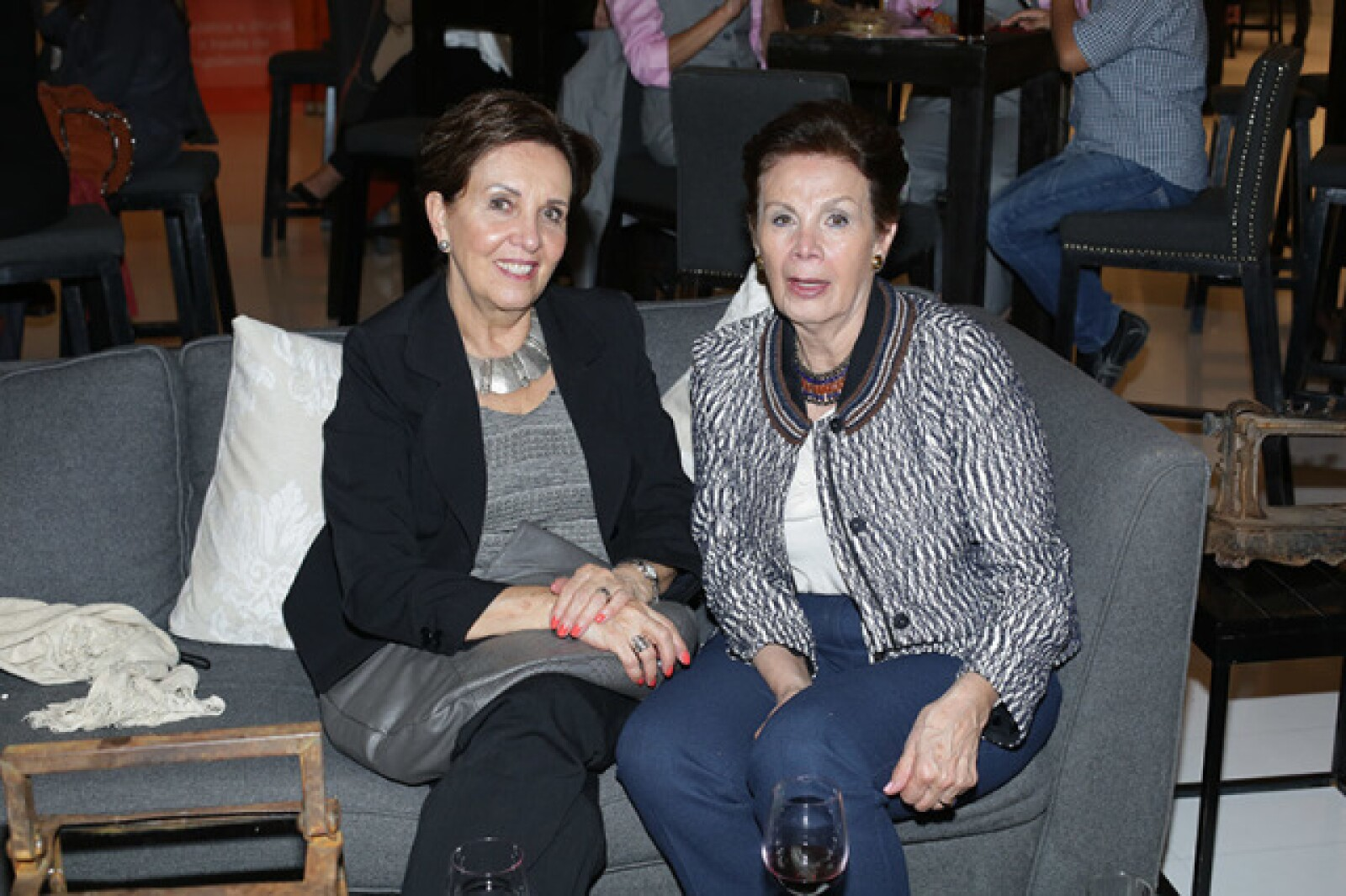 Guadalupe Álvarez y Yolanda Zapién