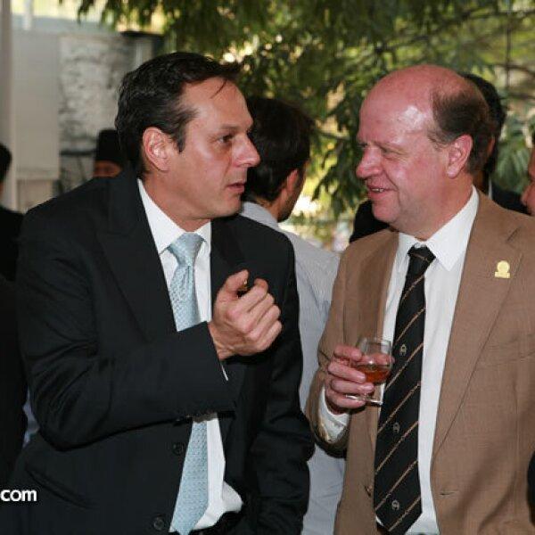 Alberto Martínez y Eduardo Solórzano