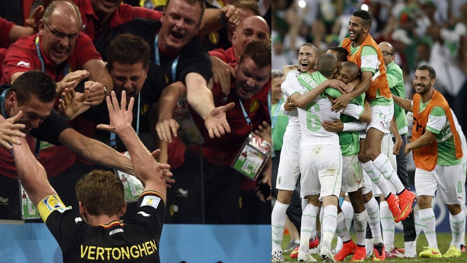 Bélgica y Argelia