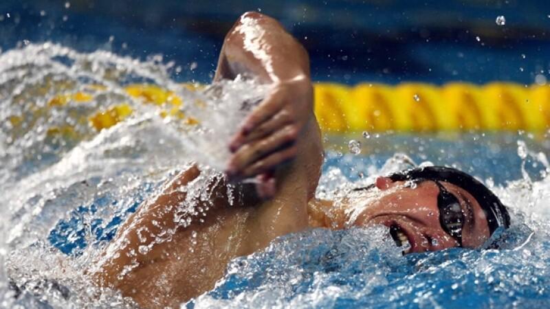 Arturo Pérez Vertti natación México