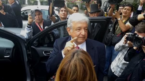 Andrés Manuel ante banqueros