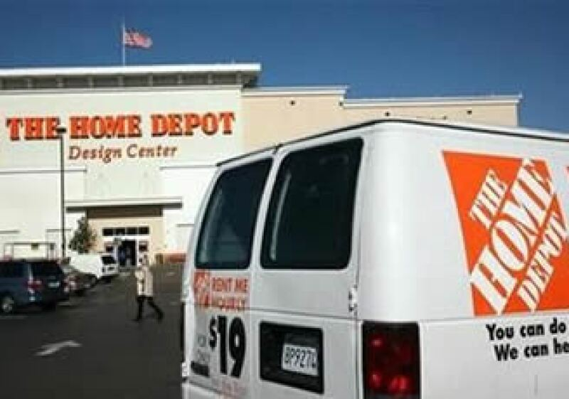 Analistas esperaban en promedio ganancias de 36 centavos por acción para The Home Depot. (Foto: Reuters)