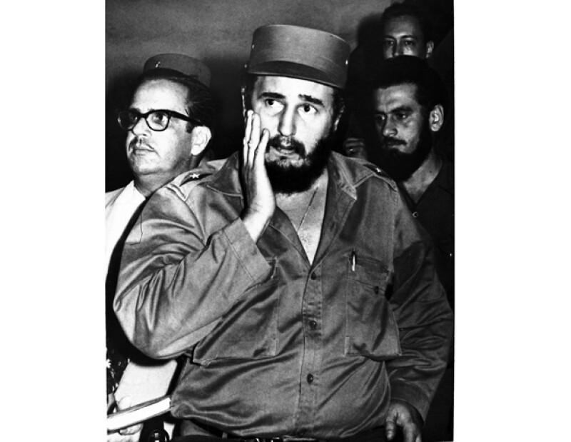 Fidel Castro fue el lídel de la revolución cubana.